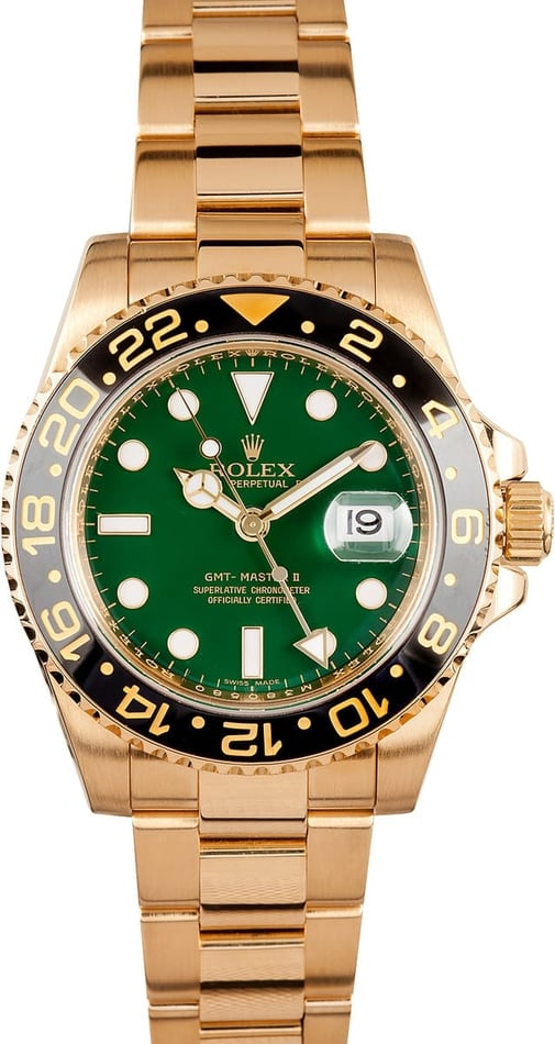 Rolex Men's GMT Master II Ceramic 116718