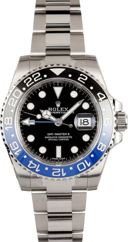 Rolex GMT-Master Batman 116710