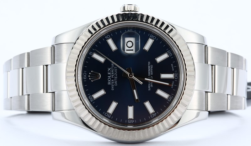 Rolex Datejust 116334 White Gold Bezel