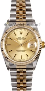 Men's Rolex Datejust Stainless and Gold Jubilee
