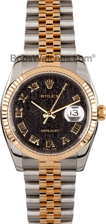 Used Two Tone Rolex Datejust 116233