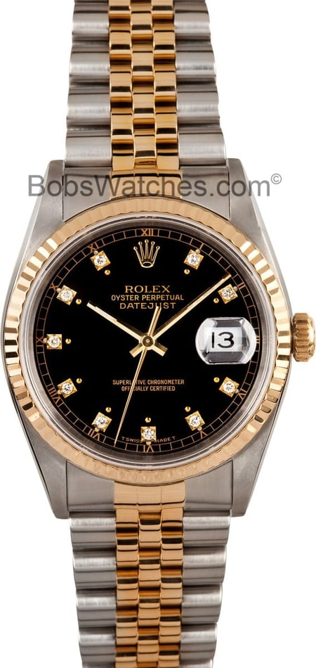 Rolex DateJust 16233 Diamond Dial