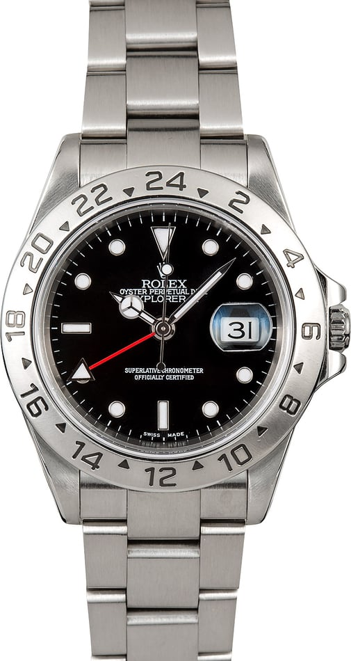 Explorer II Rolex 16570 Black