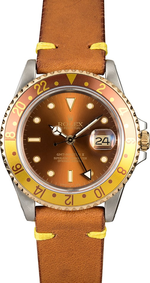 GMT-Master II Rolex 16713 Root Beer