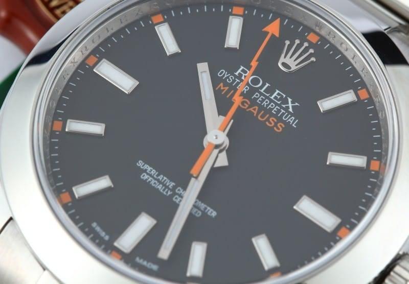 Mens Rolex Milgauss 116400