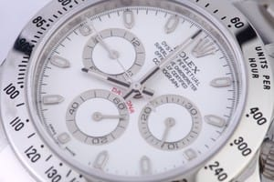 Rolex Daytona Stainless Steel White