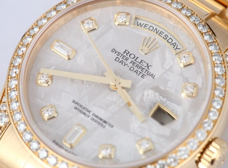Men's Rolex President Gold Day-Date 118388