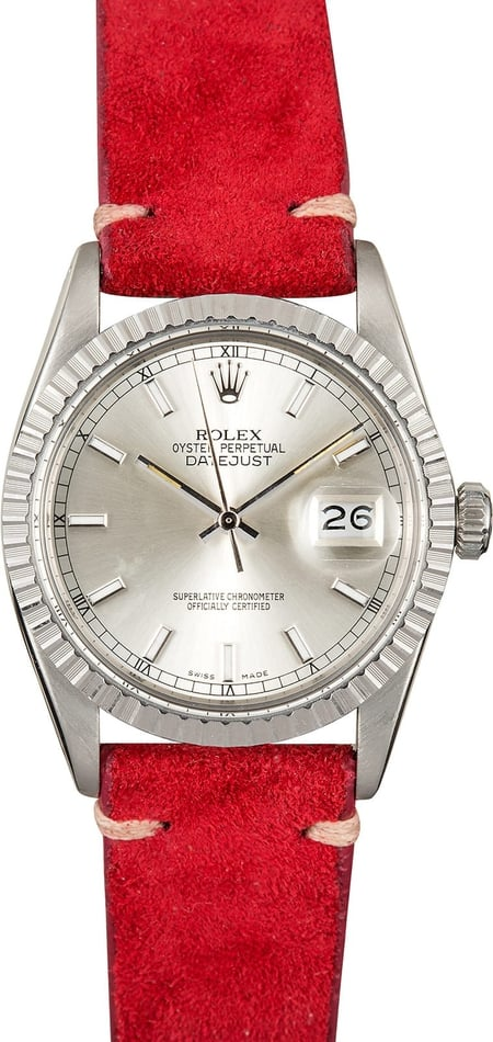 Rolex Datejust 16030 Leather