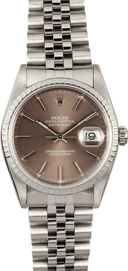 Rolex Datejust 16220 Box & Papers, 2000