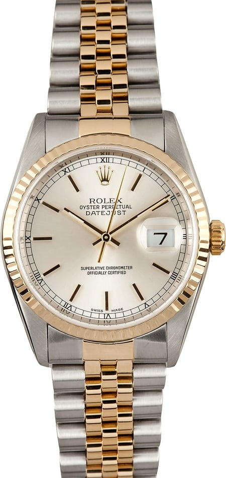 Rolex Datejust 16233 Two Tone