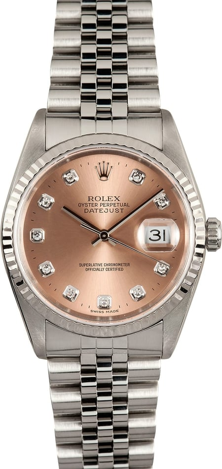 Rolex Datejust 16234 Diamond Dial