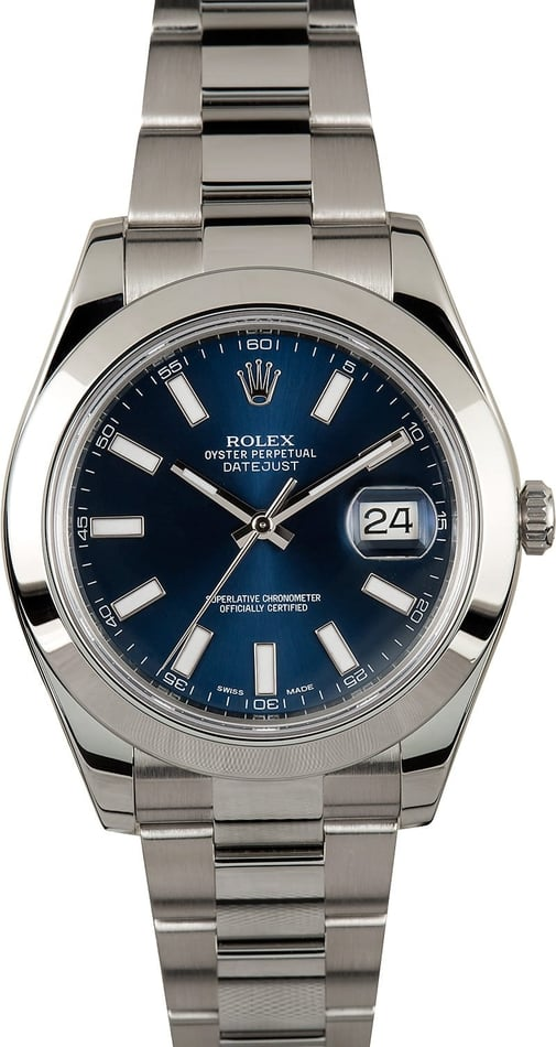 Rolex Datejust 116300 Blue Dial