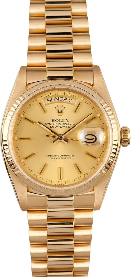 Rolex President Day-Date 18038 Champagne Dial