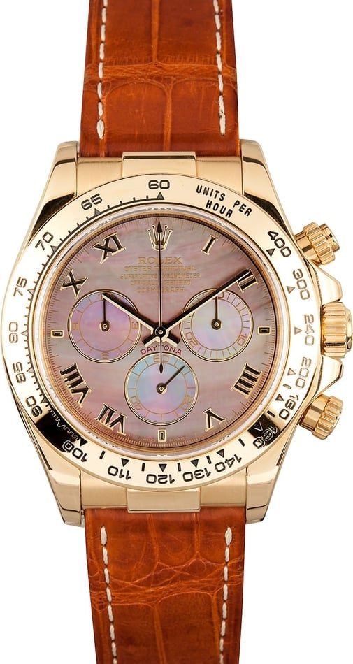 Rolex Daytona Mother of Pearl Dial x