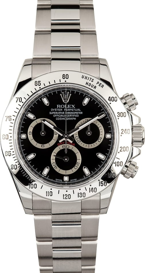 Rolex Daytona Black 116520 100% Genuine