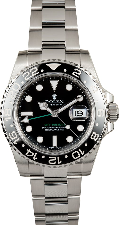 Rolex GMT-Master II 116710 Black Ceramic