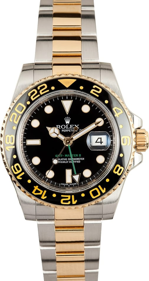 Rolex GMT Master II 116713 Two Tone