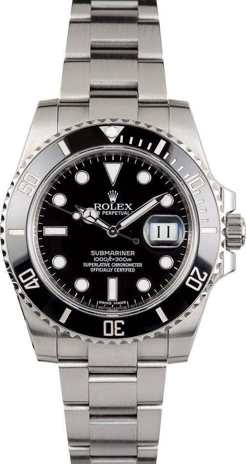 Men's Rolex Oyster Perpetual Submariner 116610
