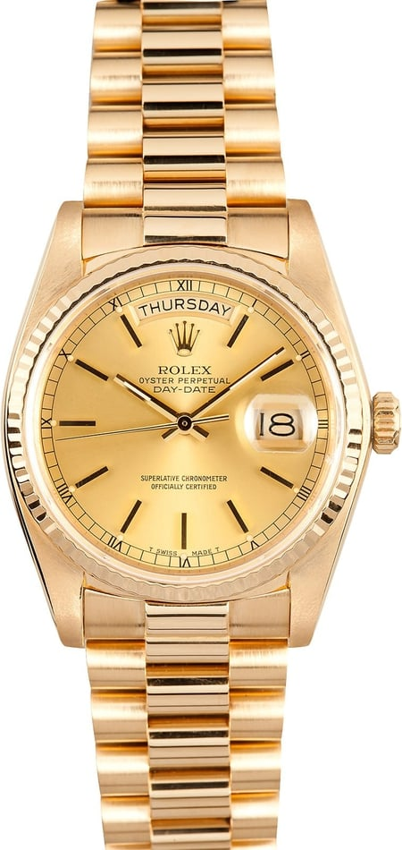 Presidential Gold Rolex Day-Date