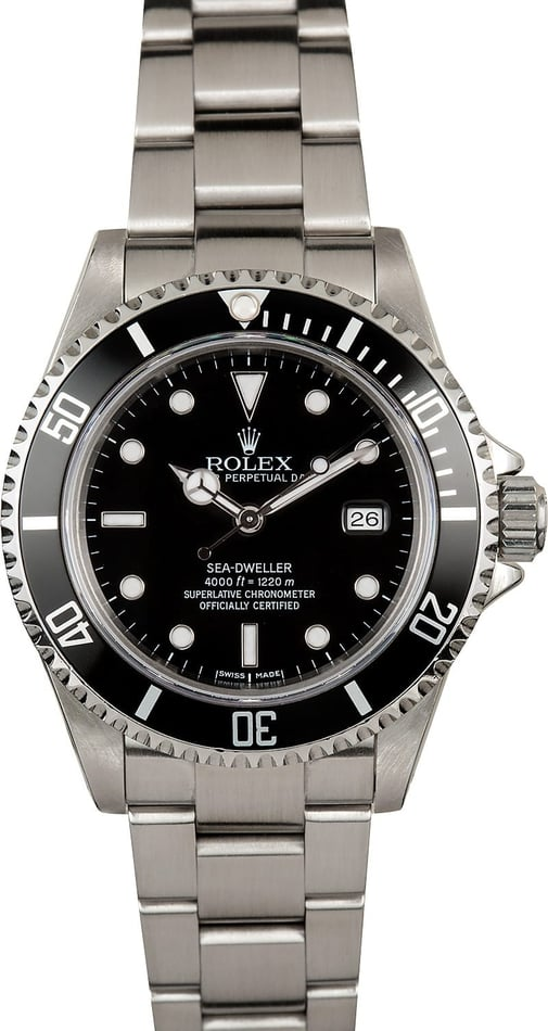 Rolex Sea-Dweller 16600 Stainless Steel