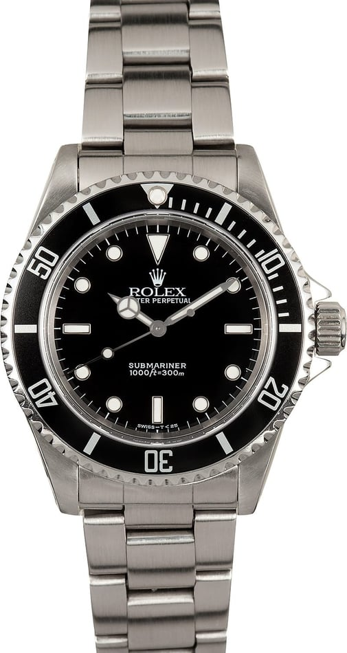 Men's Rolex Submariner 14060 No Date