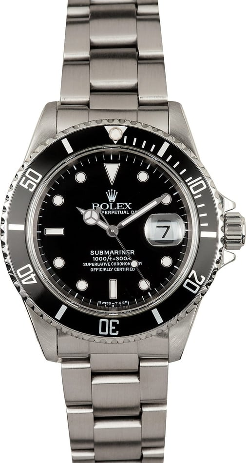 Rolex Submariner 16610 Rolex Box, 1995-1997