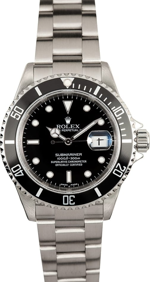 Rolex Stainless Steel Submariner 16610T