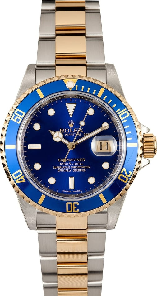 Rolex Black Submariner 16613
