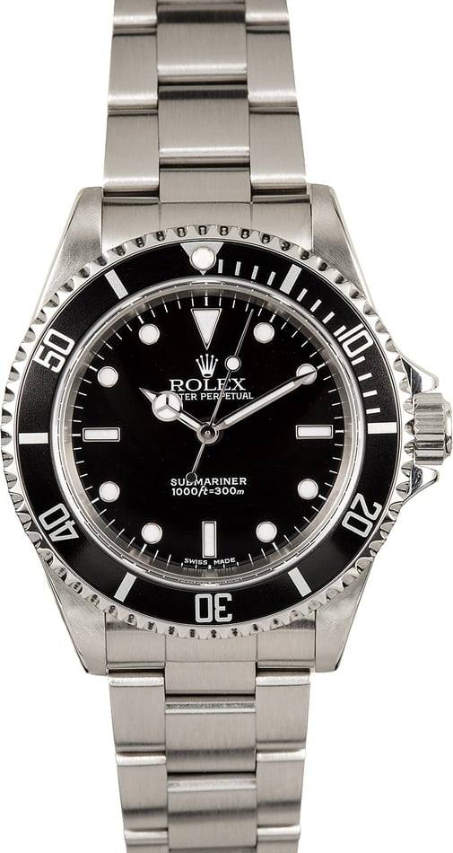 Rolex Submariner No Date Model 14060M 100% Genuine