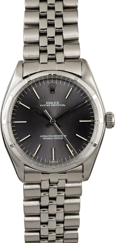 Vintage Rolex Oyster Perpetual 1003 Slate Dial