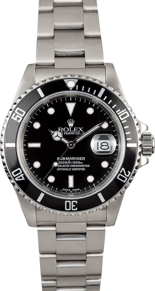 Men's Submariner Rolex 16610