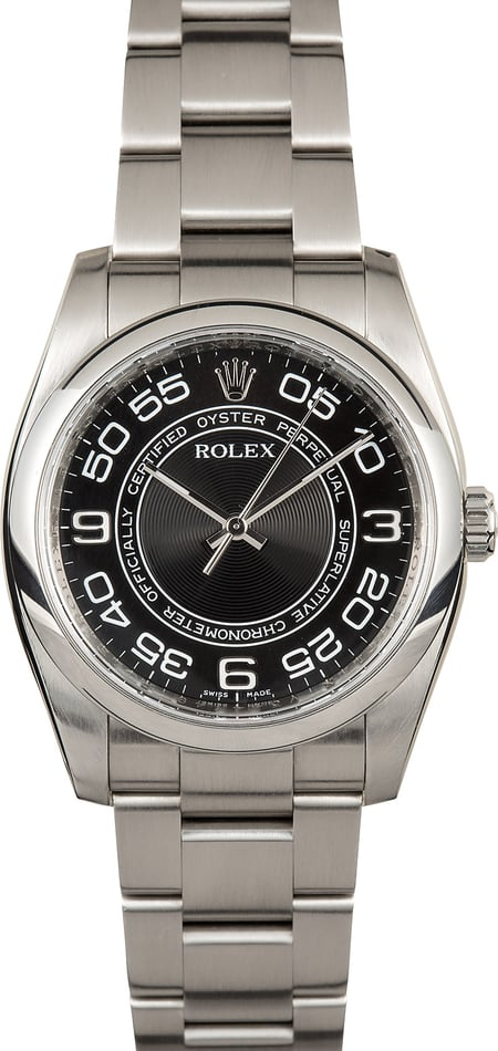 Pre-Owned Rolex Oyster Perpetual Concentric Dial 116000