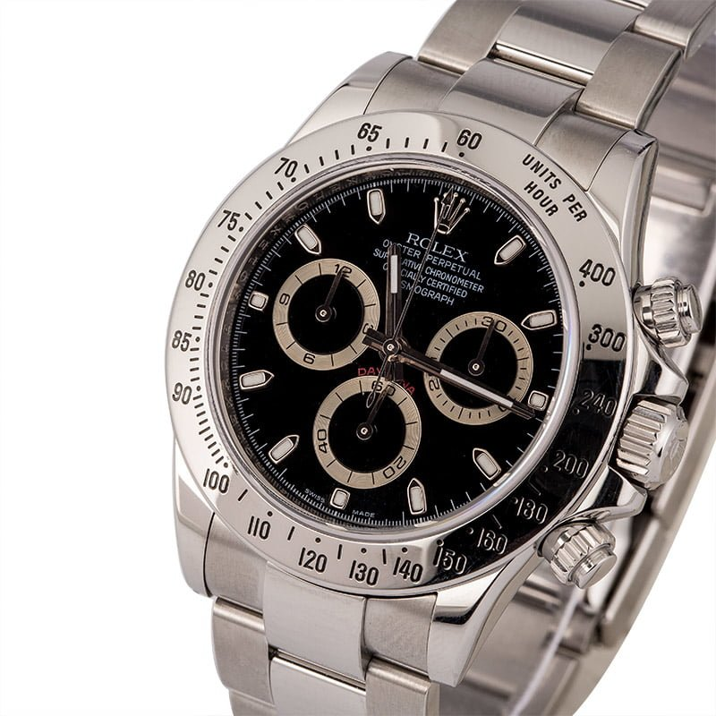 848cbb77a 13 Certified Pre-Owned Rolex Daytona watches for Sale | Bob's Watches