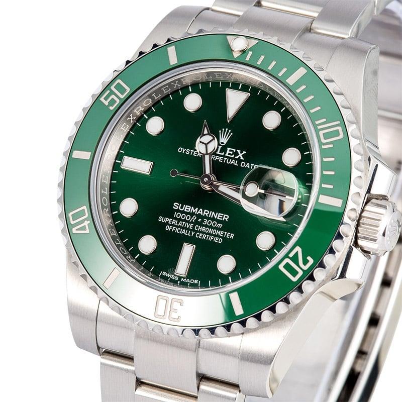Green Rolex Submariner 116610 Models - Bob s Watches 24cd4c13cd34