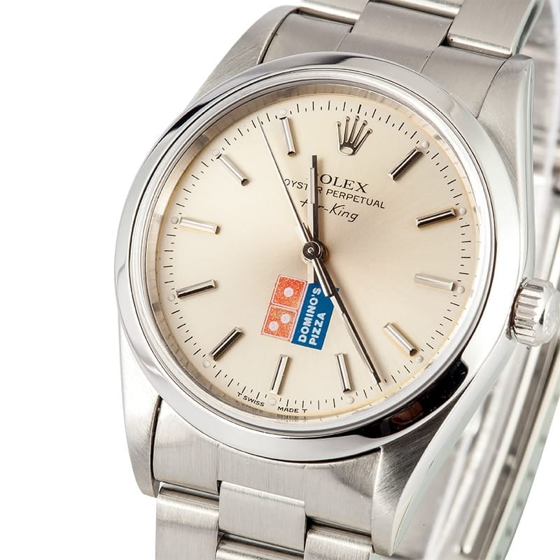 Rolex Men's Air-King Dominos Pizza 14000