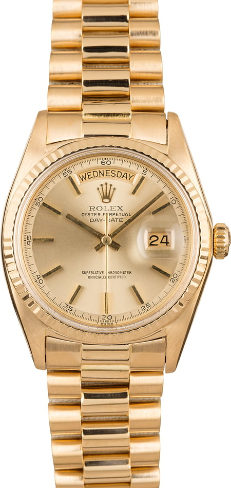 Pre Owned Vintage Rolex 1803 Day-Date President