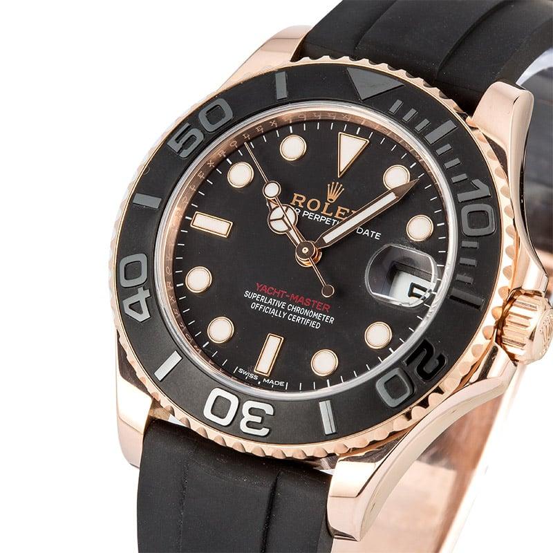 מותג חדש 8 Certified Pre-Owned Rolex Yachtmaster watches for Sale | Bob's CJ-79