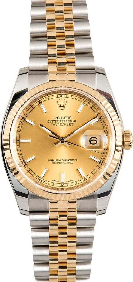 Rolex 36MM Datejust 116233 Jubilee