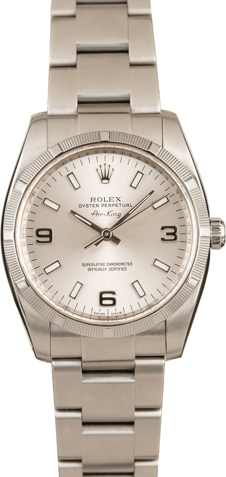 Used Rolex Air King 114210