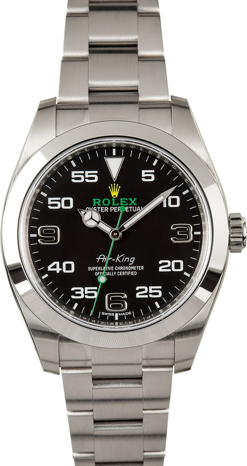 PreOwned Rolex Air-King 116900 with Steel Oyster