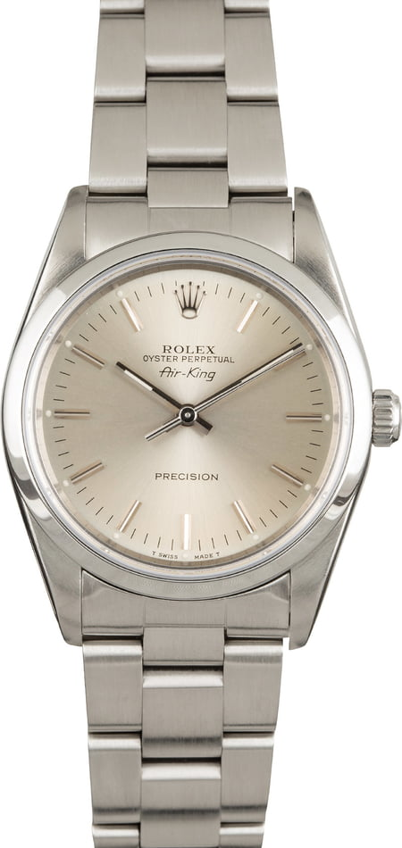 Rolex Air-King 14000 Stainless Steel Oyster Band