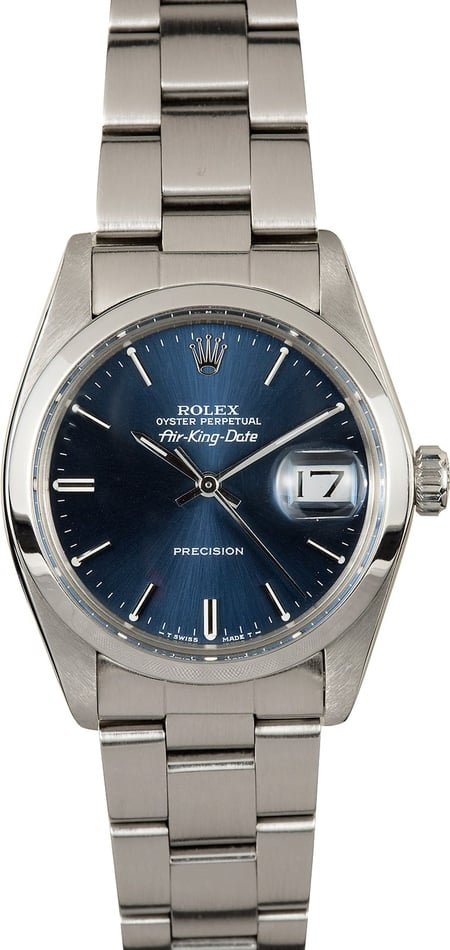 Rolex Air-King Date 5700 Certified Pre-Owned