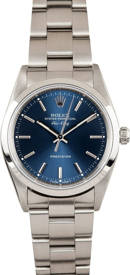 Rolex Air-King Steel 14000