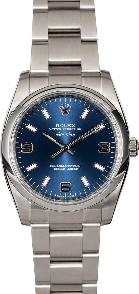 Rolex Air-King 114200 Steel Oyster