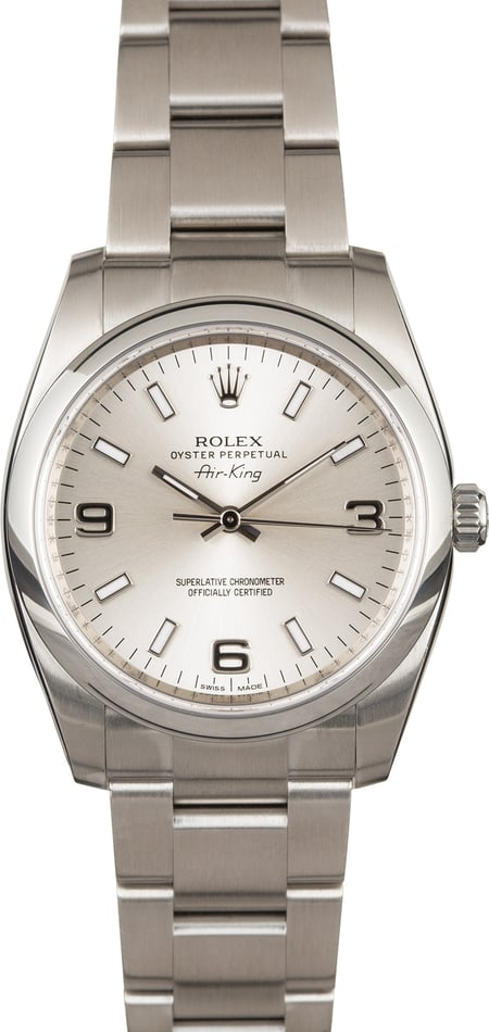 Rolex Air-King 114200 Stainless Steel Oyster