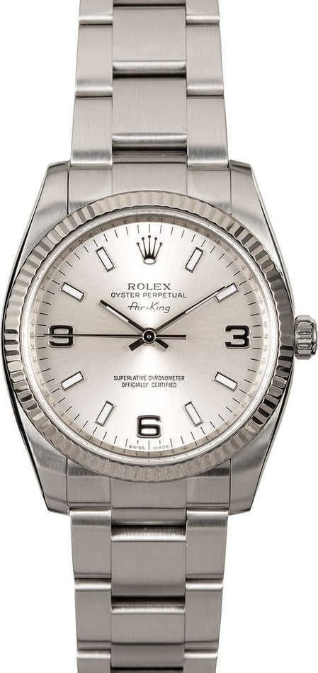 Authentic Rolex Air-King 114234