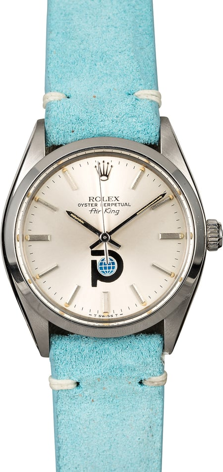 Rolex Air-King 5500 Intairdril Dial
