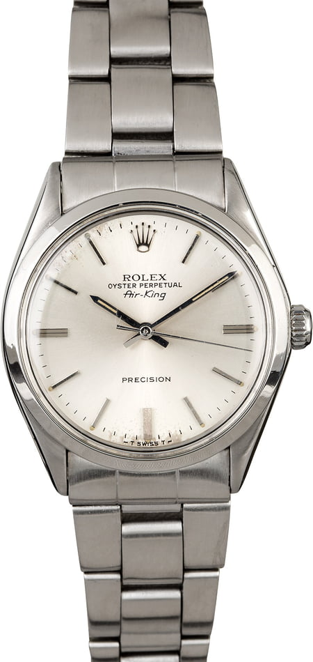 Rolex Air-King 5500 Fold Over Links