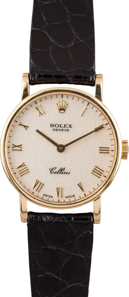 Rolex Ladies Cellini 5109 Certified Pre-Owned