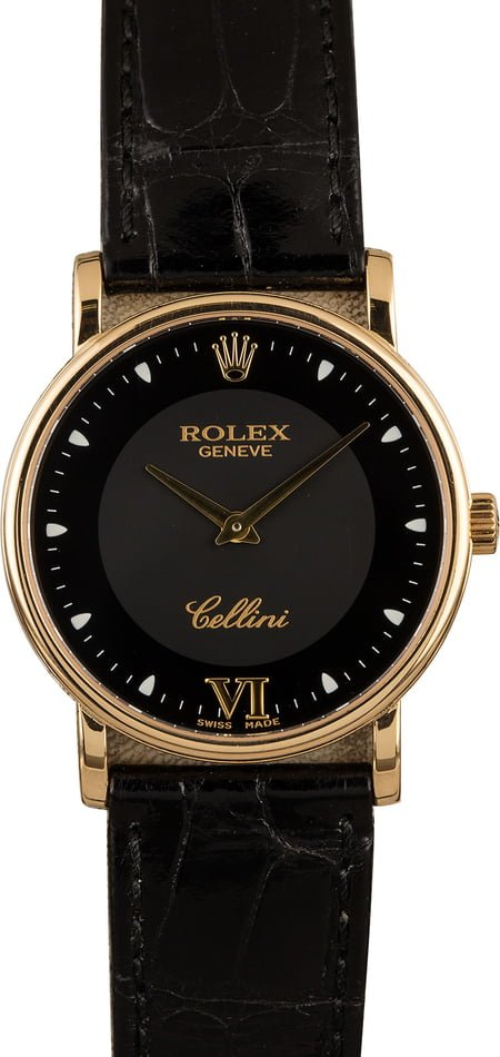 Rolex Cellini 5115 Yellow Gold